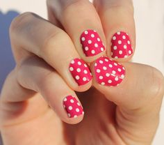 Hey, I found this really awesome Etsy listing at https://www.etsy.com/listing/213843844/raspberry-dots-nail-wraps