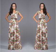 Купить 2015 летом новый короткими рукавами печатных платье свободного покроя цветочные платья дамы одежда одеждаи другие товары категории Платьяв магазине World woman wardrobeнаAliExpress. одежды кнопки и одежды ткань