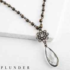 Plunder Jewelry, Plunder Design, Summer Necklace, Stylish Jewelry, Jewelry Party, Gold Chains, Vintage Inspired, Bronze, Bling