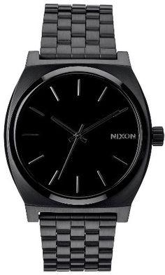 Men's Nixon 'The Time Teller' Stainless Steel Bracelet Watch, 37Mm - $100