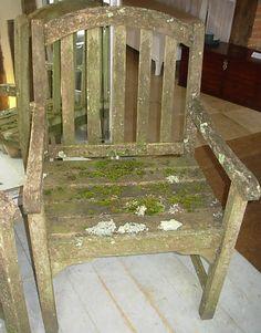 Pair Vintage Garden Armchairs