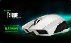 Razer Taipan – Ambidextrous Gaming Mouse- White #Razer
