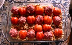 Try something different next year.  Plant German Striped Cavern Tomatoes.  At harvest pop out the center (very easy) and stuff them with your favorite meatloaf recipe.  Serve on a bed of cooked brown rice, with Bright Lights Chard, and onions.  Bake at 350 degrees for 45 minutes.  It makes a colorful fall presentation for any meal.