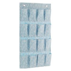 FIRTH Blue printed fabric hanging pockets   Buy now at Habitat UK