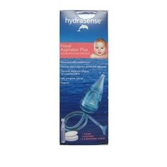 hydraSense Infant Nasal Aspirator Plus. This is a life saver for those little stuffy noses! It is the only nasal aspirator that actually works. I have tried many of those aspirators that come in safety kits and they are all hard and provide no suction. This aspirator works and helps the baby breathe. $19.99 at most drug stores.