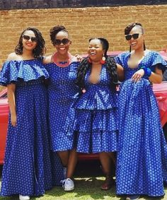 Wedding reception shweshwe dresses for wedding 2019 - Reny styles South African Dresses, South African Traditional Dresses, Latest African Fashion Dresses, African Dresses For Women, African Print Dresses, African Print Fashion, Africa Fashion, African Attire, African Wear