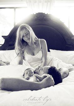new family, newborn photography