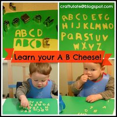 Craftulate: Learn your A B Cheese