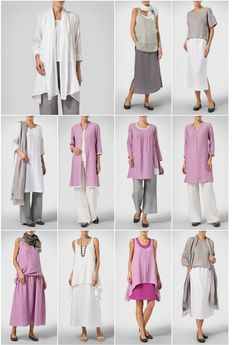 VIVID LINEN LookBook - Wisteria-inspiration