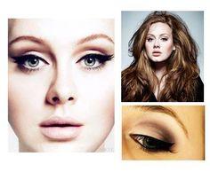 Adele's make-up <3