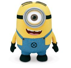 Despicable Me Huggable Plush Minion Stuart Minion Toy, My Minion, Minion Bedroom, Giant Plush, Talking Toys, Despicable Me 2, Toys Uk, Minion Party, Collages