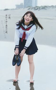 "浅川梨奈 (Nana Asakawa),  a mbr of the idol group ""SUPER☆GIRLS"" since 2012, Japan."