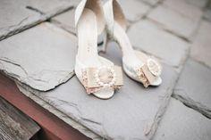 Wedding Shoes #broach #beigeweddingshoes #bluemooneventplanning