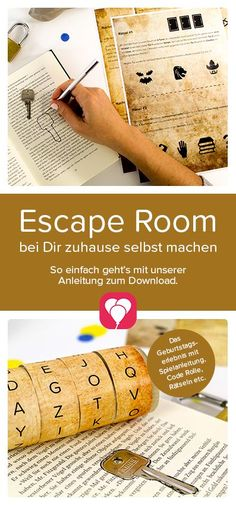 """Escape Room game at your home! You want to do an Escape Room and offer exciting riddles to children? It's easy with our template """"The Party Thief"""". Just visit our website and be inspired to the exciting Escape Room Party! Your balloonas team Room Escape Games, Escape Room Diy, Escape Room For Kids, Kids Room, Games For Kids, Diy For Kids, Baby Room Boy, Decoration Birthday, Diy Pet"""