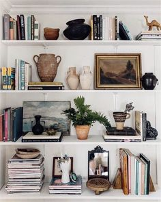 These shelves are ever changing. It's full of memories, knickknacks, books I treasure, and a lot more. But most of all, I treasure this… bookshelf decor Decoration Inspiration, Decoration Design, Interior Inspiration, Decor Ideas, My New Room, Apartment Living, Apartment Ideas, Home And Living, Living Spaces
