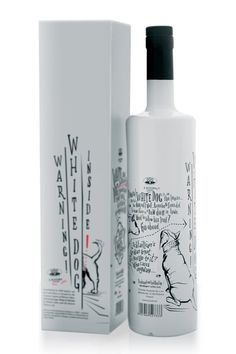 White Dog I single malt spirit by Martyna Ząbecka