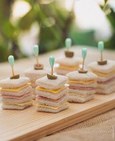 Sandwich Pop de Embutidos y Queso - http://tiendamydesign.com/productos/mini-sandwich-embutidos-queso-panama