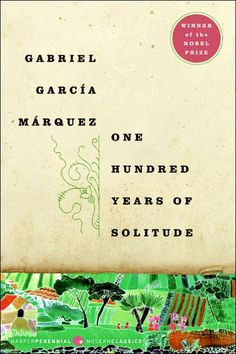 One Hundred Years of Solitude by Gabriel Garcia Marquez - tells the story of the rise and fall, birth and death of the mythical town of Macondo through the history of the Buendía family Hundred Years Of Solitude, One Hundred Years, 4 Years, This Is A Book, Love Book, E Commerce, Good Books, My Books, Amazing Books