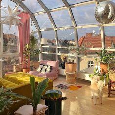 Dream Home Design, My Dream Home, Retro Interior Design, Pastel House, Room Design Bedroom, Belle Villa, Dream Apartment, Aesthetic Room Decor, Dream Rooms