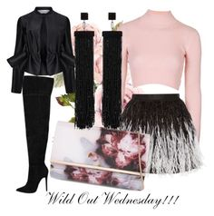 """""""Wild Out Wednesdy"""" by fashiontagboutique on Polyvore featuring Topshop, Alice + Olivia, Ted Baker, Victoria, Victoria Beckham, Tom Ford, women's clothing, women's fashion, women, female and woman"""