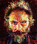 Chuck Close is amazing