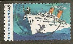 Germany Scott 2581 Ship Used .55
