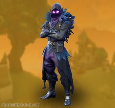 Raven Outfit in Fortnite Battle Royale.