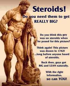 Vegetarian bodybuilding and steroids