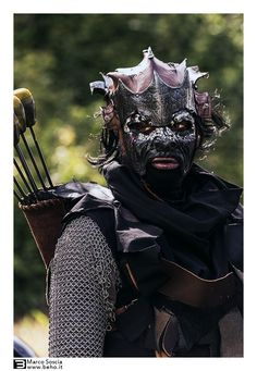 Orc Archer - Battle for Vilegis 2014 by Marco Soscia on 500px