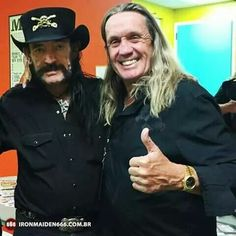 Lemmy and nicko