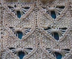 Dragonfly knitting stitches