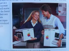 ad for the first Apple home computer (that's me). RIP Steve.