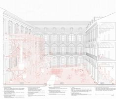 MURENA_The new courtyard, Natural Museum Torino, Fosbury Architecture