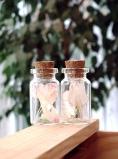Spring Inspired Small Glass Bottle Wedding by HannaTextiles, £1.00