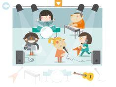 Los instrumentos de Pupitre App