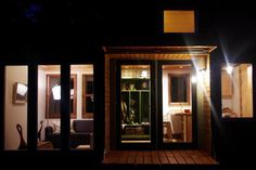 Lighting the night.How is lighting a tiny house different than lighting a normal room of the same size? A