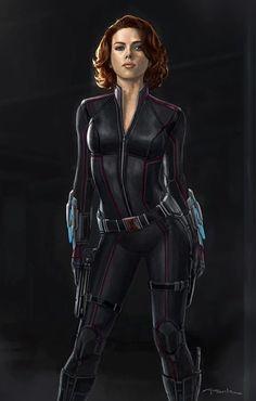 Scarlett Johansson as Black Widow Marvel Avengers, Marvel Comics, Marvel Women, Marvel Girls, Comics Girls, Marvel Heroes, Avengers Memes, Black Widow Scarlett, Black Widow Movie
