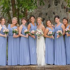 10 Periwinkle Wedding Dresses Ideas Periwinkle Wedding Dresses - This 10 Periwinkle Wedding Dresses Ideas photos was upload on February, 25 2020 by admin. Here latest Periwinkle Wedding . Purple Lace Bridesmaid Dresses, Blue Bridesmaids, Junior Bridesmaid Dresses, Wedding Bridesmaids, Periwinkle Wedding, Wedding Colors, Wedding Ideas, Periwinkle Blue, Wedding Stuff