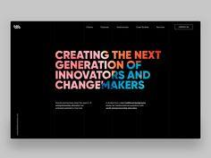 Venture Labs - Homepage header by Semas Header Design, Ui Design, Change Maker, Web Design Inspiration, Show And Tell, Portfolio Design, Case Study, Collaboration, Innovation