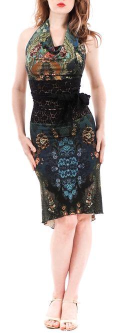 luxury handmade tango clothes www.poemaclothing.com | tango skirt