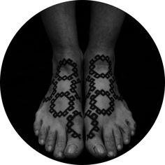 Geometric tattoos by Brody Polinsky