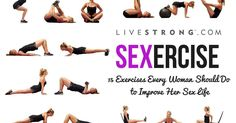 You're only one workout away from a better sex life! Not only can you lose weight, sculpt a strong, lean body and cause your endorphins to soar, but...