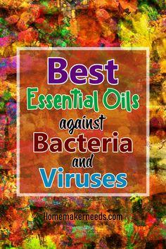 Best Essential Oils Against Bacteria And Viruses! - New Ideas Essential Oils Guide, Essential Oil Uses, Doterra Essential Oils, Young Living Essential Oils, Terra Oils, Essential Oil Diffuser Blends, Massage, Living Oils, Essentials