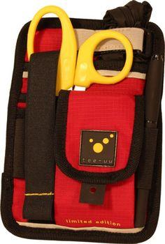 TEE-UU PARA limited edtion Rettungsdienst-Holster in rot Der Bestseller von  TEE-UU in einer limitierter Sonderauflage . Neben der attraktiven Farbgebung unterscheidet sich die