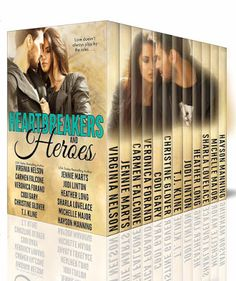 Virginia Nelson, Author: It's HERE!! #HeartbreakersAndHeroes #NewRelease