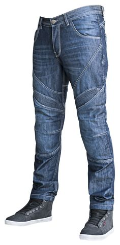 2f8658dd The Speed and Strength Rust and Redemption Jeans have adjustable knee armor  and stretch areas where