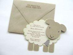 0a3d4ac7992cc696a9ee356ed38f605a lamb themed baby shower lamb baby showers baby shower invitation little lamb baby shower por gracenldesigns,Lamb Themed Baby Shower Invitations