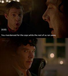 Texts From 221B Baker Street... LMAO
