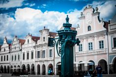Telč, Czech republic. Copyright Aki Votrubova.
