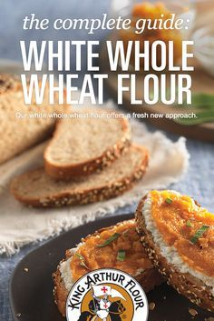 The complete guide: White Whole Wheat Flour  -  baking, recipes, how to substitute with white all purpose flour, etc.  good info.     lj